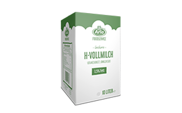 H-Vollmilch 3,5% Fett, 10l